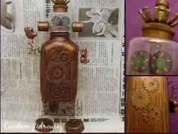 Plastic Bottle Robot Water Bottle Crafts