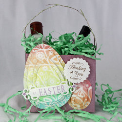3d gift bag A Completely DIY Easter Party