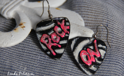 Rockin' Guitar Pick Earrings