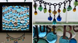 Hanging Stained Glass Mosaic