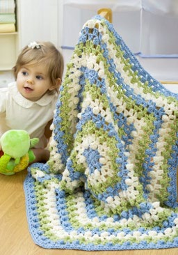 41 Easy Crochet Baby Blanket Patterns Free Tutorials and More  How To Crochet A Baby Blanket Tutorial