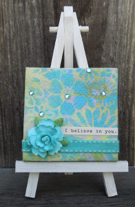 Celebrate Friendship Mini Canvas