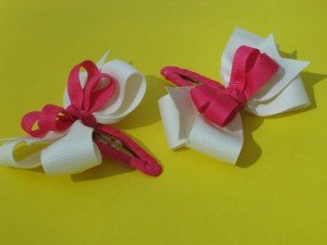 Back to School Hair Bows