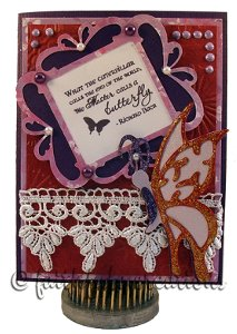 Breathtaking Butterfly Card