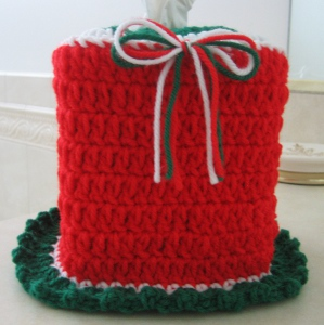 Christmas Tissue Cozy