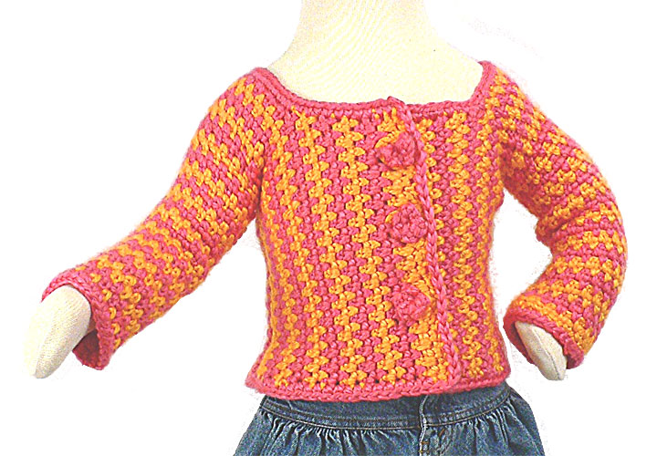 Toddler Cardigan Crochet Pattern