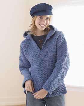 Free Knitting Pattern 60061 Knit Oh-So-Simple Cardigan