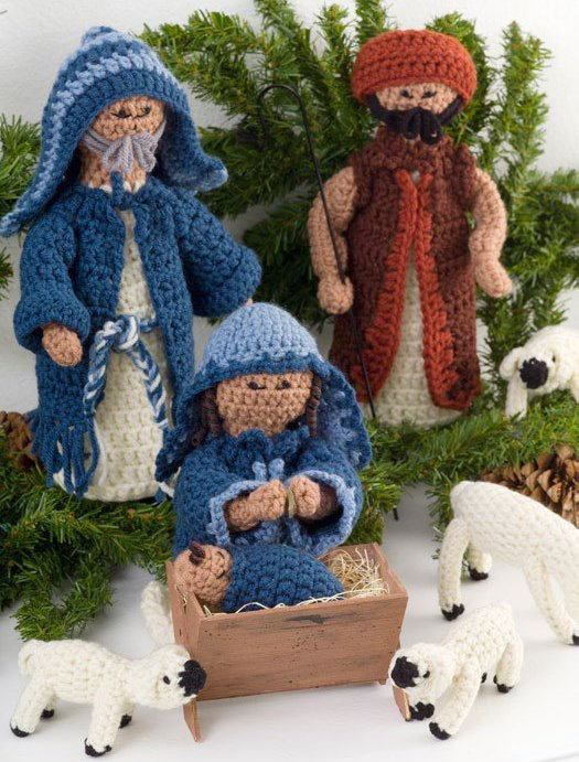 Crochet Patterns Nativity Scene : Merry Christmas: A Crocheted Nativity and our last ...