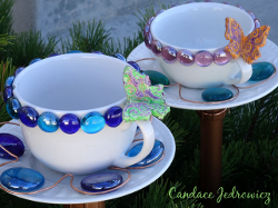 Cup and Saucer Planters