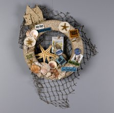Day at the Beach Wreath