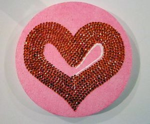 Dazzling Valentine's Day Door Decoration