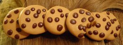 Polymer Clay Chocolate Chip Cookie Barrette