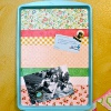 Dollar Store Cookie Sheet Magnet Board