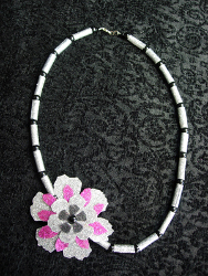 Glue and Glitter Necklace