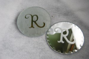 Cricut Craft Ideas Vinyl on Materials 4 Scalloped Edged Mirrors Item 1633 62 Cricut Vinyl