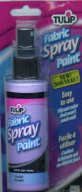 Fabric Spray Paint from Tulip