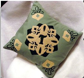 Fabulous Fusible Applique Pillow