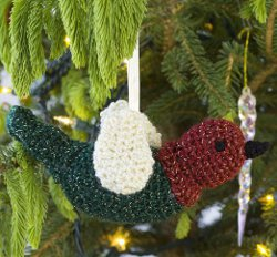 Festive Bird Ornament