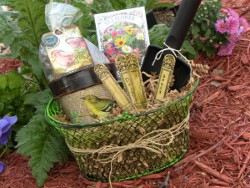 Friendship Garden Gift Basket Ensemble