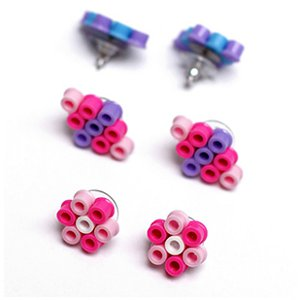 Fun Perler Bead DIY Earrings