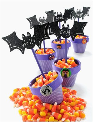 I'm Going Batty Halloween Place Card Holders