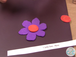 Embossed Craft Foam Flowers