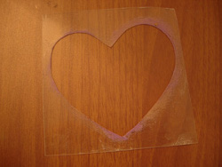 Textured Heart Decor