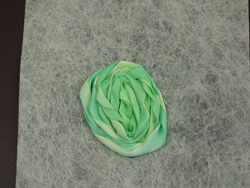 Dyed Ribbon Flower