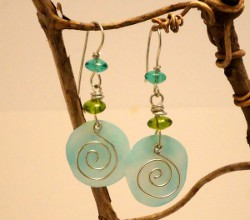Shrink Plastic Earrings