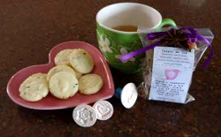 Pamper Yourself Homemade Herbal Tea and Lavender Shortbread