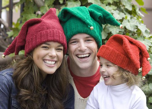 Jingle Bell Hats for the Family