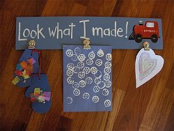 Kids Craft Display Boards