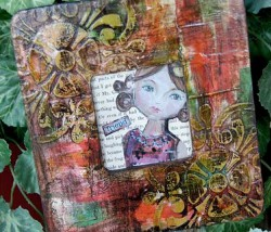 Embossed Mixed Media Frame