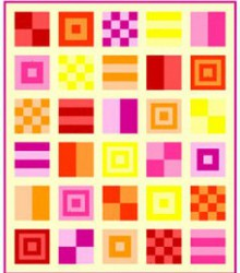Mod Quilt Sampler Part 1 of 3