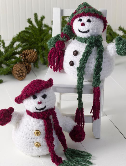 Aromy's Originals: Snowman Amigurumi Pattern