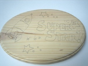 My Super Star Plaque