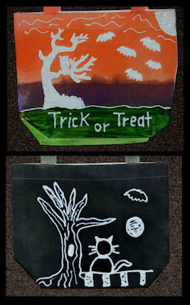 Personalized Trick or Treat Bags Alternate designs