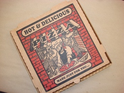 Pizza Box Wall Art
