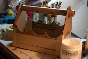 Recycled Cardboard Caddy