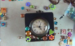 Colorful Repurposed Clocks