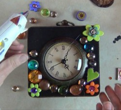 Colorful Repurposed Clock