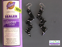 Retro Lightning Bolt Earrings
