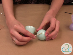 Plastic Easter Egg Cups