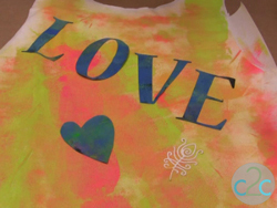 Painted Graffiti Shirt