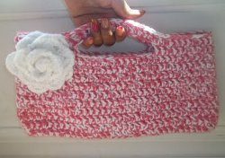 Simple Crochet Handbag