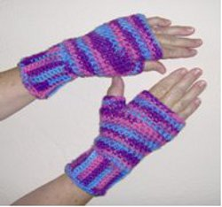Crochet Fingerless Gloves Pattern Beginner : How to Crochet Gloves for Beginners: 9 Patterns ...