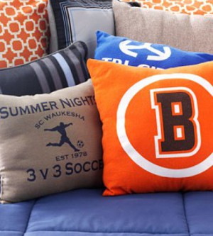 T shirt throw pillows