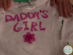 No Sew Personalized Onesie
