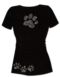 Dog Paw Print Iron On