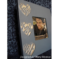 Glue Hearts Frame